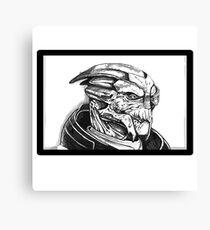 Garrus Vakarian: Mass Effect Canvas Print