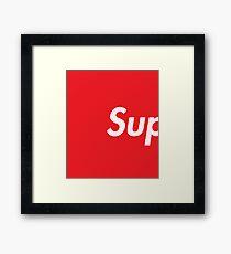 SUP Supreme Framed Print