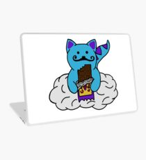 space kitten with cosmic crunch Laptop Skin
