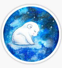Baby Polar Bear Dream Sticker