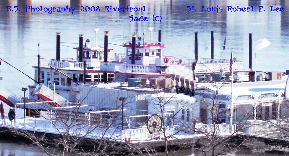 Robert E. Lee Riverboat by Sade