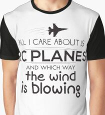 Funny Rc Plane Design  Graphic T-Shirt