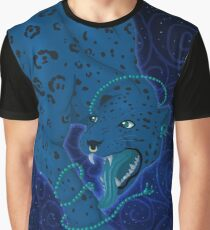 Jaguar and Snakes Graphic T-Shirt