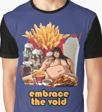 Embrace The Void - Glutton Graphic T-Shirt