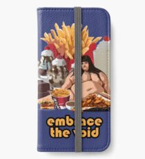 Embrace The Void - Glutton iPhone Wallet/Case/Skin