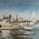 Short Sunderland Flying Boat by JohnLowerson