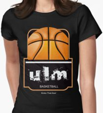Ulm Basketball Womens Fitted T-Shirt