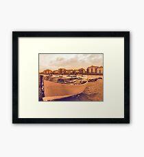 adur shores Framed Print