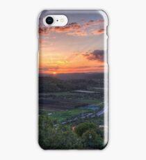 Sunrise Over Ein Tut iPhone Case/Skin