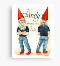 Andy- Retirement Party Canvas Print
