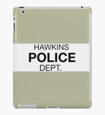 Hawkins Police iPad Case/Skin