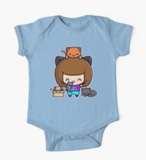 Cat Mom One Piece - Short Sleeve
