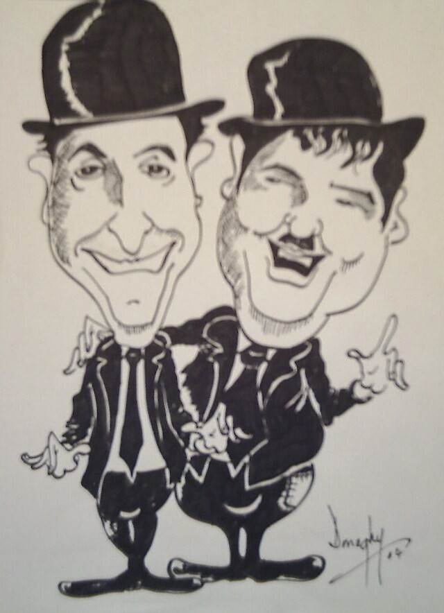 caricature by donaghy