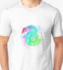 Neon Ball python design  Unisex T-Shirt