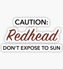 Red Sunn Sticker
