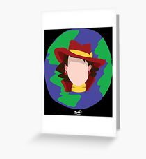 Where In The World Is? Greeting Card