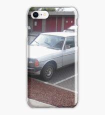 MERCEDES 1984 LIMOUSINE SEDAN 300D W123  LONG WHEELBASE iPhone Case/Skin
