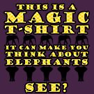Magic T-Shirt (yellow) by HandDrawnTees