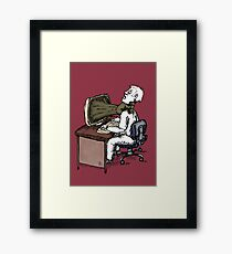 No Caption Needed 2 Framed Print