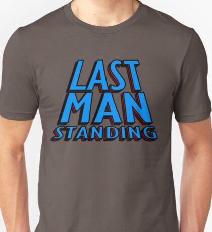 Last Man Standing (blue) T-Shirt
