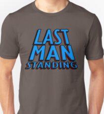 Last Man Standing (blue) Unisex T-Shirt