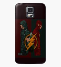 Flash Arrow row Case/Skin for Samsung Galaxy