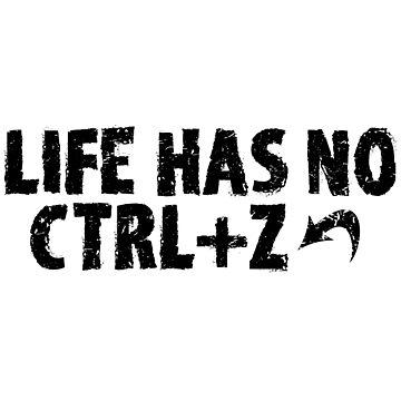 LIFE HAS NO CTRL+Z by valem97