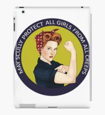 May Scully protect all girls from all creeps iPad Case/Skin