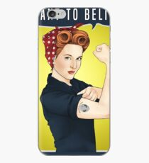 Scully the riveter iPhone Case