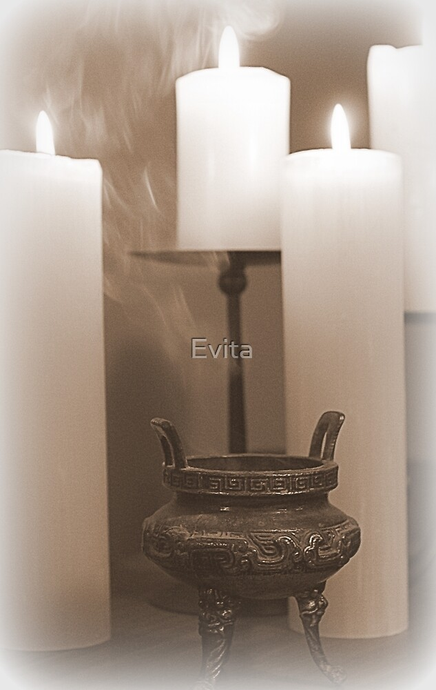 Incence By Candle Light by Evita