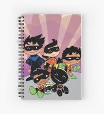 Bat Boys Spiral Notebook