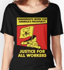 justice for all workers Women's Relaxed Fit T-Shirt