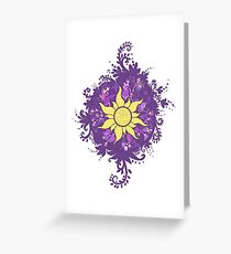 tangled | kingdom dance Greeting Card
