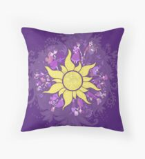 tangled | kingdom dance Throw Pillow