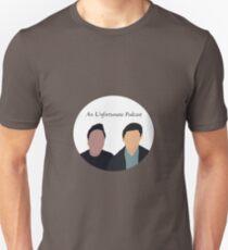 An Unfortunate Podcast (white circle) Unisex T-Shirt