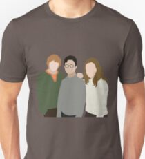 Why is it, when something happens, it is always you three? Unisex T-Shirt