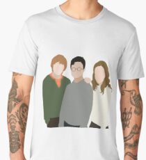 Why is it, when something happens, it is always you three? Men's Premium T-Shirt