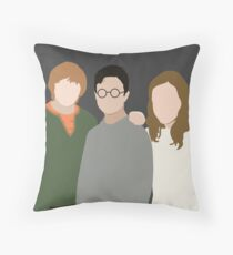 Why is it, when something happens, it is always you three? Throw Pillow