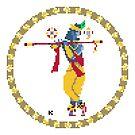 Krishna Pixel Art by artkarthik