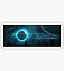Aphotic Realm -- Storm Logo Sticker