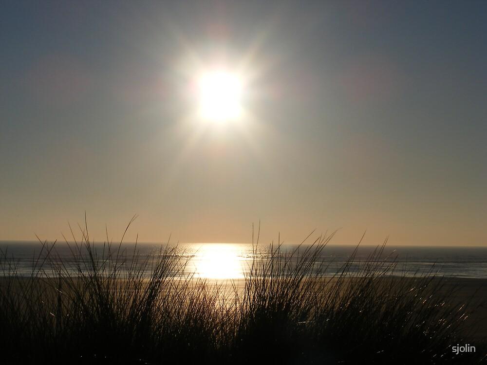 hooray, the sun shines in Wales by sjolin