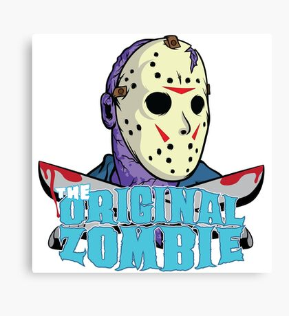 The original zombie (Friday 13th) Canvas Print
