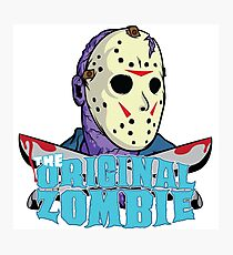 The original zombie (Friday 13th) Photographic Print