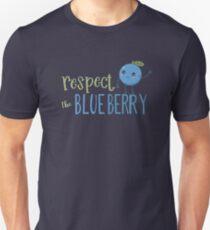 Respect The Blueberry - Cute T-Shirt