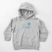 Respect The Blueberry - Cute Toddler Pullover Hoodie