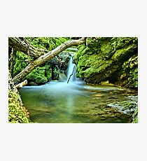 Spilling Over Dolomite Photographic Print