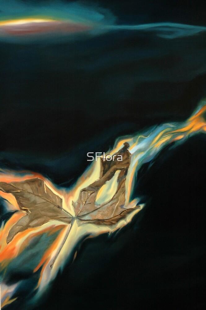 Pilgrim (Detail) by SFlora
