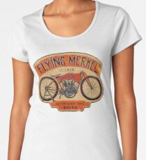 Flying Merkel Vintage Logo Women's Premium T-Shirt