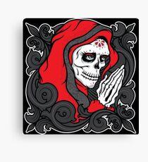 La Catrina - Red version Canvas Print