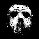 Jason Voorhees Hockey Mask by thecreepstore